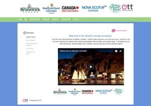 Online Travel Training, Atlantic Canada Module
