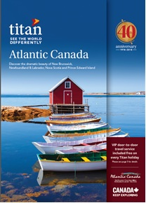 Titan Travel Atlantic Canada Direct Mailer January 2018
