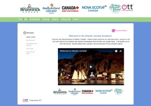 Online Travel Training, Atlantic Canada Module