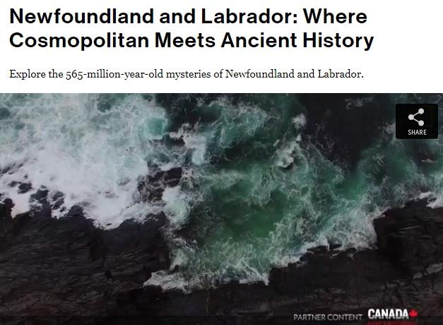 National Geographic: Terre Neuve et Labrador – à l'intersection du cosmopolite et l'histoire ancienne